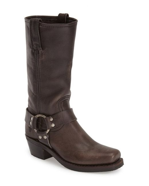 Frye | Gray 'Harness 12R' Boot | Lyst