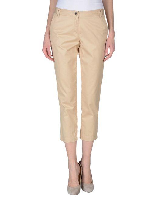 tommy hilfiger casual trouser in beige save 60 lyst. Black Bedroom Furniture Sets. Home Design Ideas