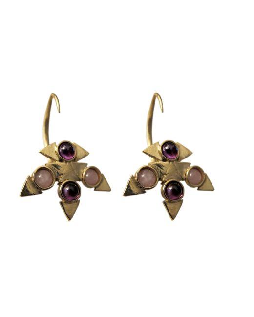 Jill Golden   Metallic Reflection Montgomery Earring   Lyst