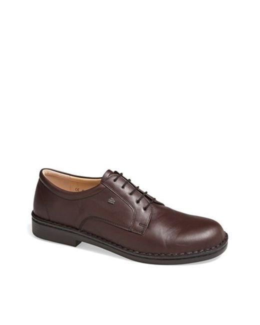 Finn Comfort | Red 'milano' Plain Toe Derby for Men | Lyst