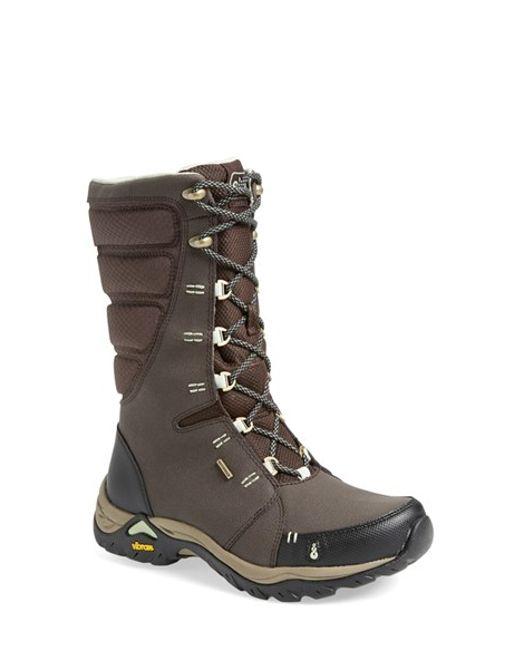 Ahnu | Brown 'northridge Wp+' Insulated Waterproof Boot | Lyst