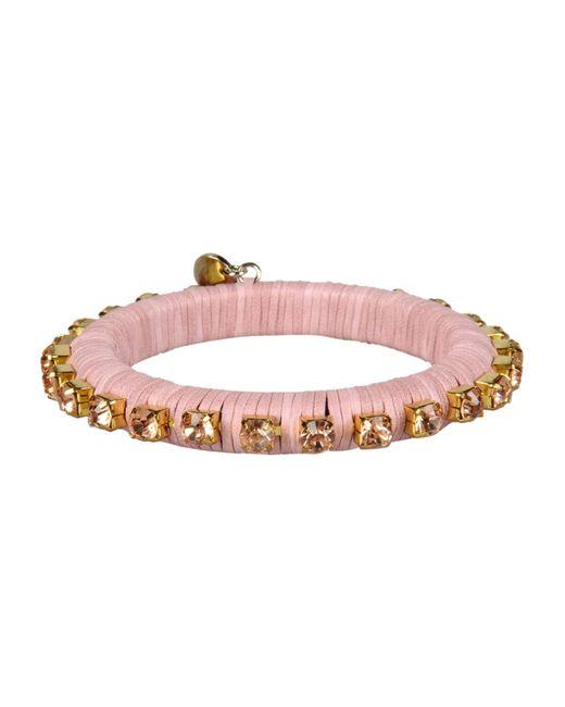 Pinko   Pink Bracelet   Lyst