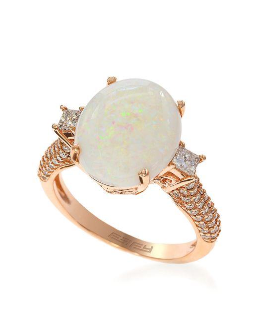 Effy Opal Rose Gold Ring