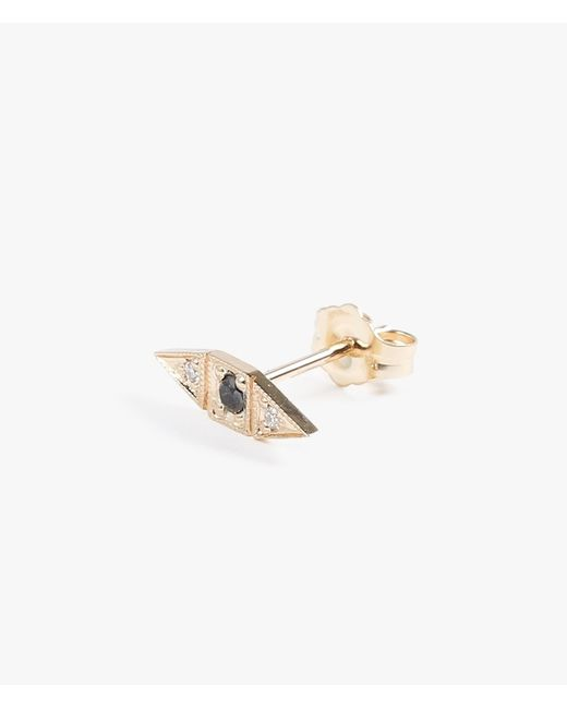 Jennie Kwon | Metallic Deco Point Stud - Single | Lyst