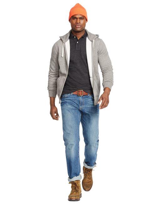 Polo Ralph Lauren | Black Hoodie, Full Zip Hooded Fleece for Men | Lyst