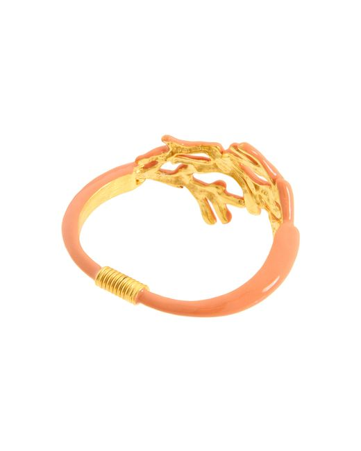 Kenneth Jay Lane   Orange 1956 Bracelet   Lyst