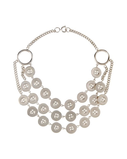 Moschino | Metallic Jewellery Set | Lyst