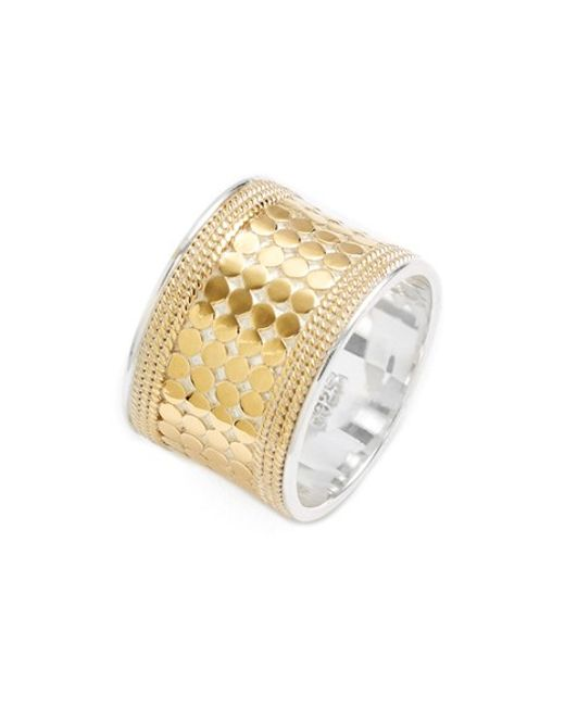 Anna Beck | Metallic 'gili' Cigar Band Ring | Lyst