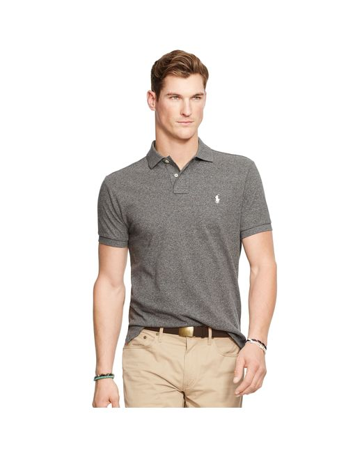 ... Polo Ralph Lauren Men Custom-Fit Mesh Darkgreen ...
