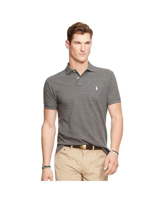 Polo Ralph Lauren Men Custom-Fit Mesh Darkgreen .