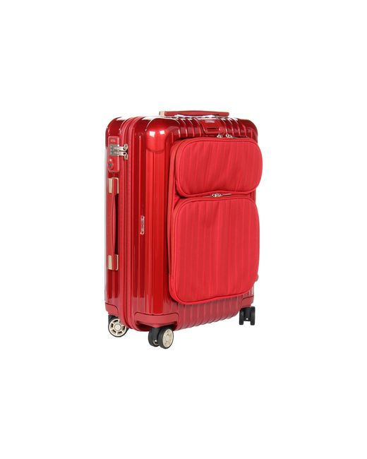 "Rimowa | Red Salsa Deluxe Hybrid - 21"" Cabin Multiwheel® 