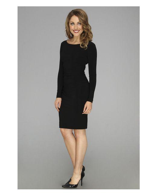 Kamalikulture | Black L/s Shirred Waist Dress | Lyst