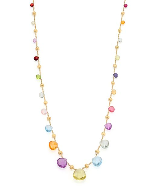 Marco Bicego | Metallic Paradise Semi-precious Multi-stone & 18k Yellow Gold Long Necklace | Lyst