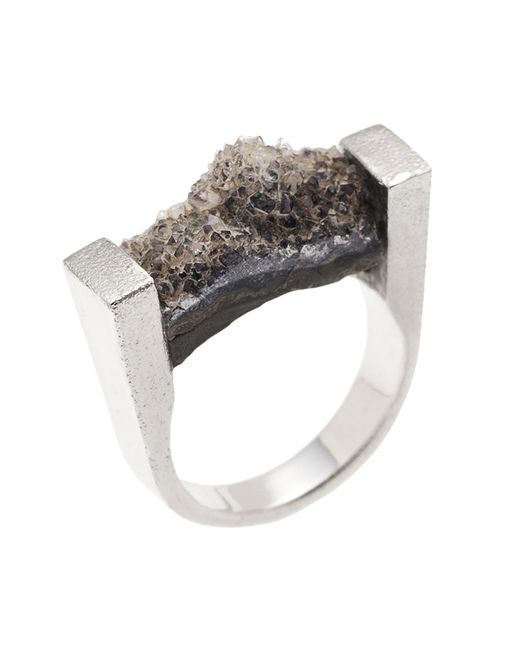 Pasionae | Metallic Melancholia Ring | Lyst