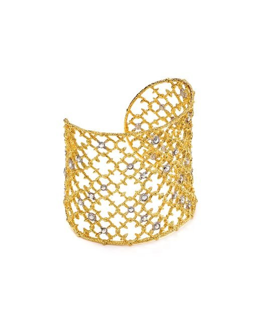 Alexis Bittar   Metallic Elements Crystal Studded Spur Lace Cuff   Lyst