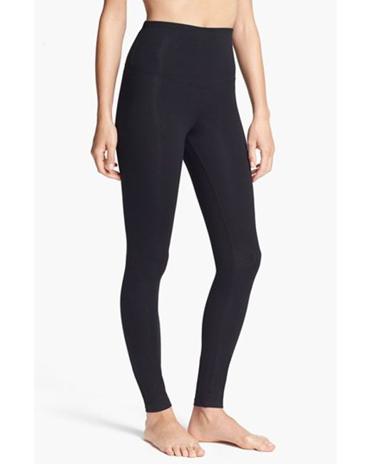 Yummie By Heather Thomson | Black 'rachel' High Waist Leggings | Lyst
