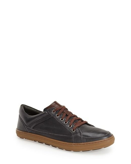 Anatomic & Co | Black Serra Leather Low-Top Sneakers for Men | Lyst