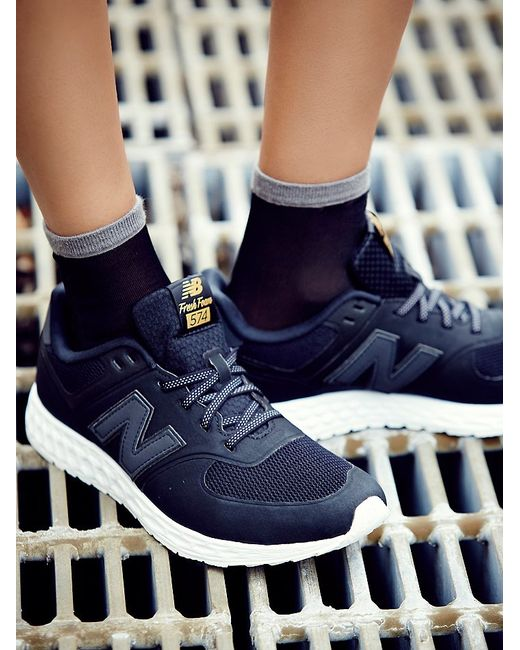 Free People | Black Sport Style Collection Trainer | Lyst
