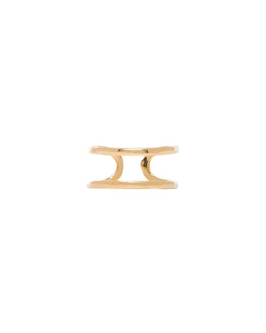 Joolz by Martha Calvo | Metallic Open Bar Knuckle Ring | Lyst