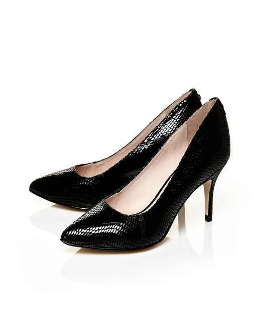 Moda In Pelle | Black Cambria Medium Smart Shoes | Lyst