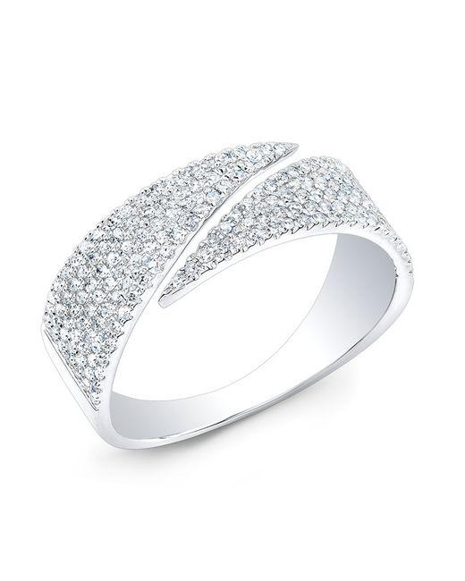 Anne Sisteron | Metallic 14kt White Gold Diamond Full Spike Wrap Ring | Lyst