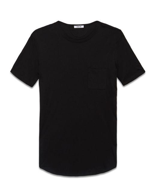 Helmut Lang | Black Core Jersey Tee | Lyst