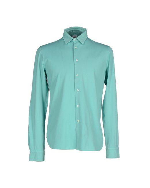 Aspesi   Blue Shirt for Men   Lyst