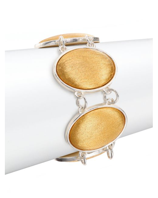 Stephanie Kantis   Metallic Glam Oval Link Bracelet   Lyst