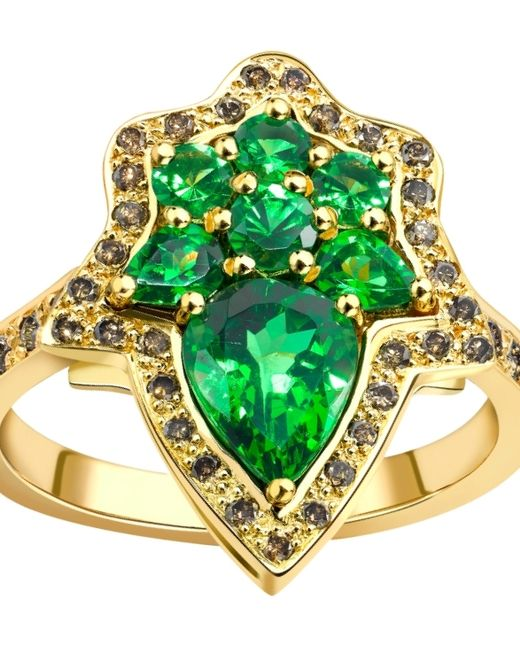 Ana De Costa | Green Tsavorite Henna Ring | Lyst