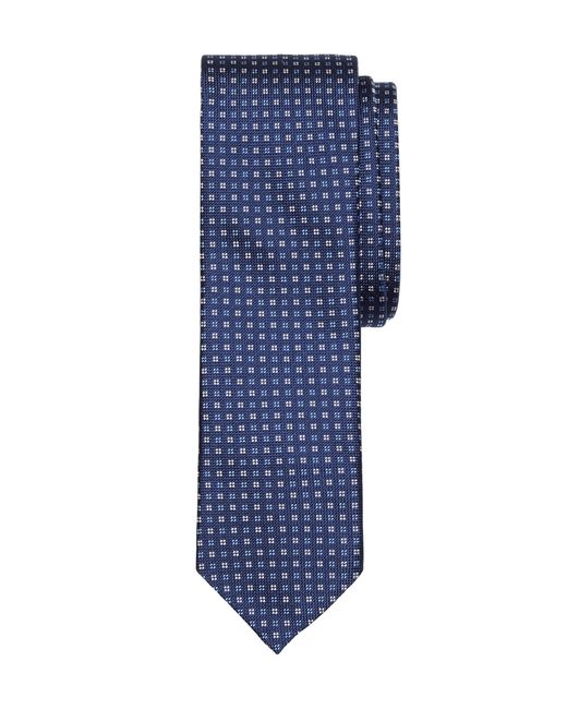 Brooks Brothers | Blue Solid-non-solid Square Tie for Men | Lyst