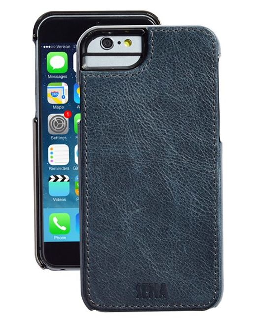 Sena | Blue 'heritage Lugano' Leather Iphone 6 Case for Men | Lyst