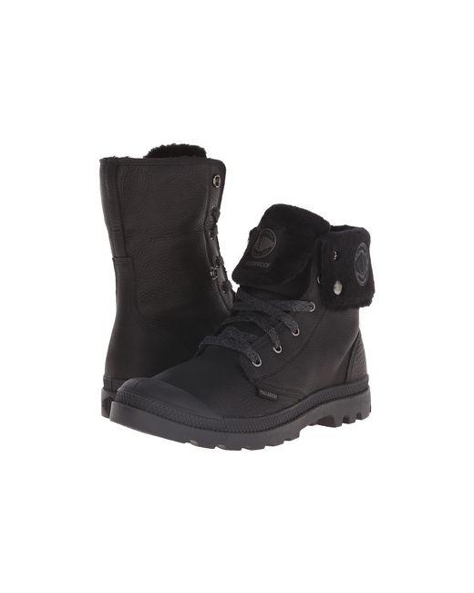 Palladium | Black Baggy Leather Gusset S for Men | Lyst