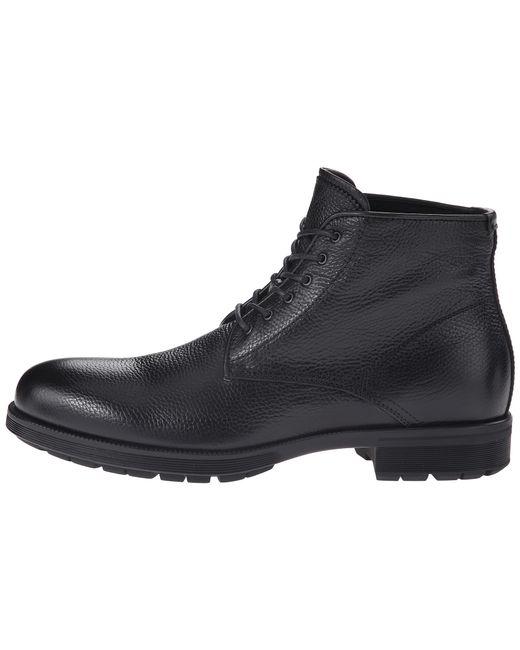 Aquatalia | Black Carter Cap Toe Boot - Weatherproof for Men | Lyst