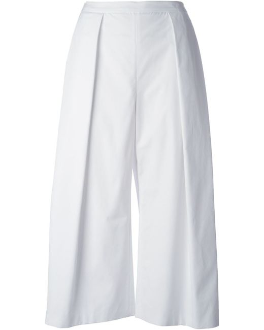 N°21 | White Slim Fit Trousers | Lyst