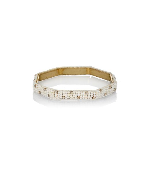 Chamak by Priya Kakkar | White Dale Bangle | Lyst