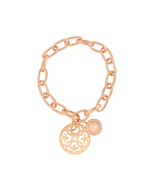 Thomas Sabo | Pink Rose Gold Charm Bracelet | Lyst