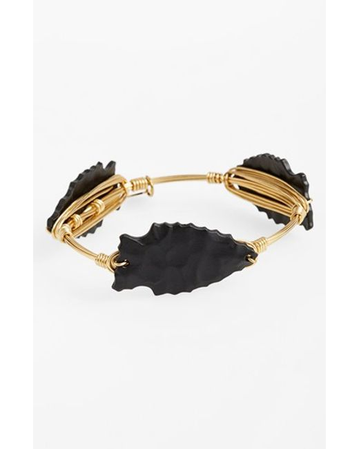 Bourbon and Boweties | Metallic Arrowhead Bracelet | Lyst