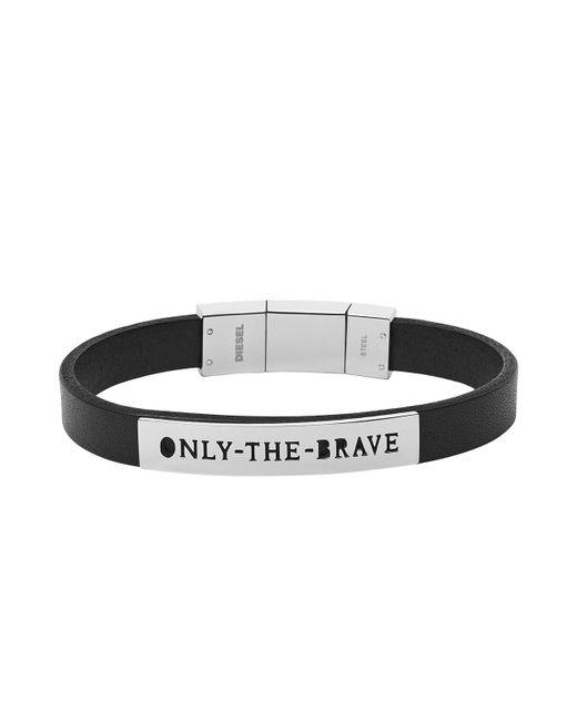 DIESEL | Black Bracelet Dx0921 for Men | Lyst
