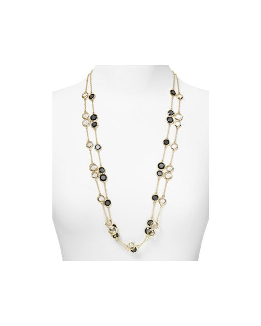 Kate Spade | Metallic Crystal Confetti Scatter Necklace, 32"
