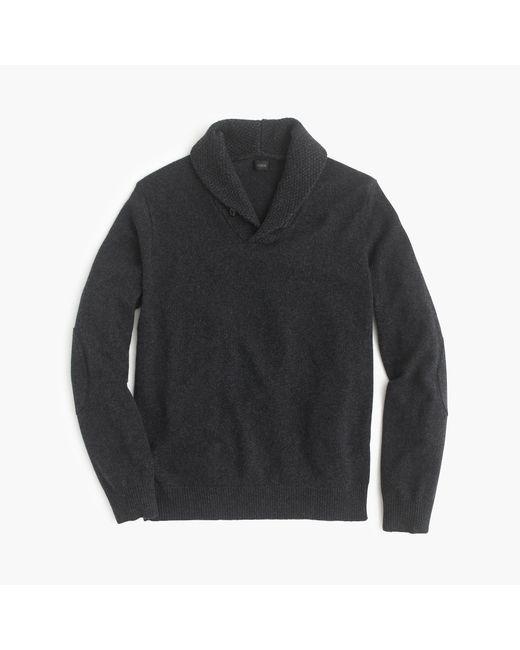 J.Crew | Gray Softspun Shawl-collar Sweater for Men | Lyst