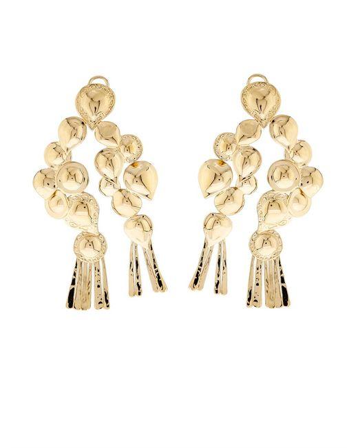 Aurelie Bidermann   Metallic Iroquois Dangling Earrings   Lyst