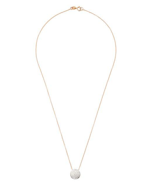"Dana Rebecca | Metallic 14k White And Yellow Gold Sylvie Rose Mini Bar Necklace With Diamonds, 16"" | Lyst"