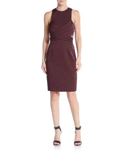C/meo Collective | Purple Trails Tie Dress | Lyst