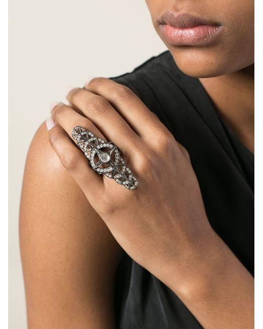 Loree Rodkin | Metallic Bondage Ring | Lyst