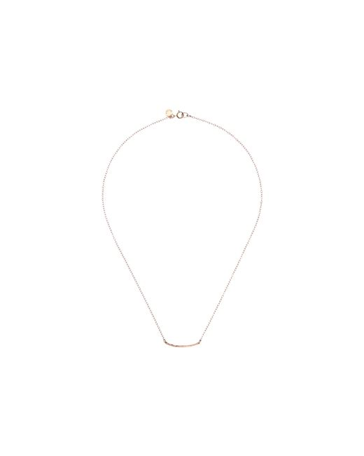 Gorjana | Pink Taner Bar Mini Necklace | Lyst