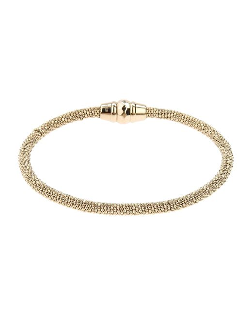 Fossil | Metallic Goldtone Magnetic Clasp Bracelet | Lyst