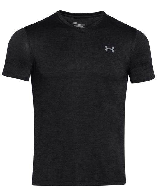 Under Armour | Black Men's V-neck Tech T-shirt for Men | Lyst
