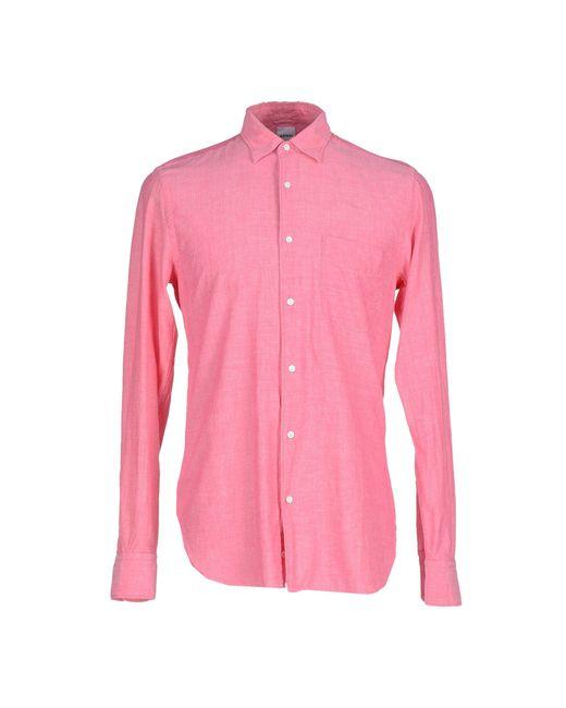 Aspesi shirt in purple for men light purple save 59 Light purple dress shirt men