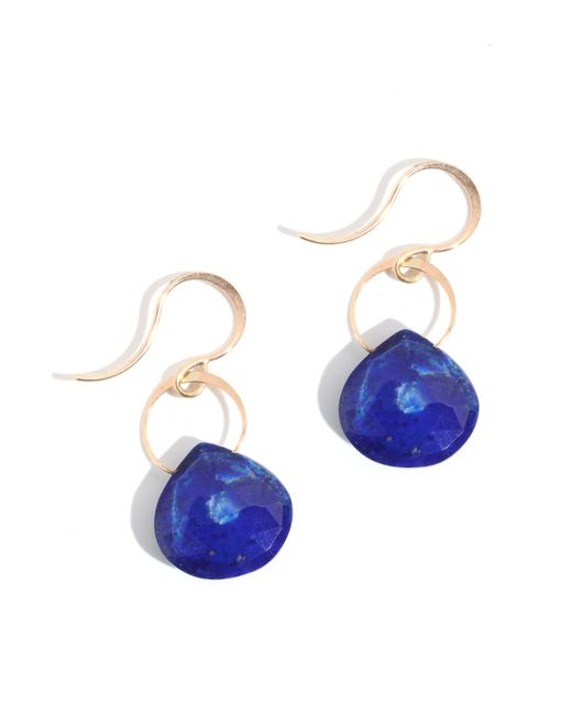 Melissa Joy Manning | Blue Lapis Drop Earrings | Lyst