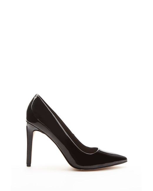 Forever 21 | Black Faux Patent Leather Pumps | Lyst